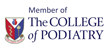 Member of the College of Podiatry